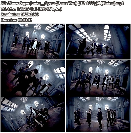 PV Super Junior - Opera (Dance Version) (Full HD 1080p)