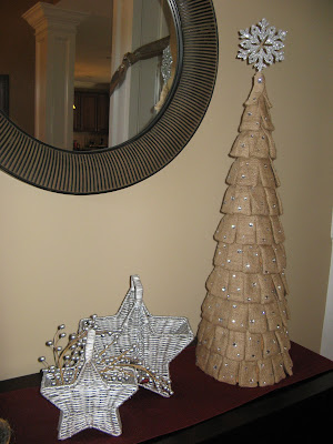 Burlap Christmas Tree