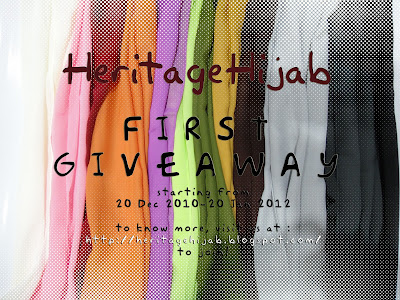 HeritageHijab First Giveaway