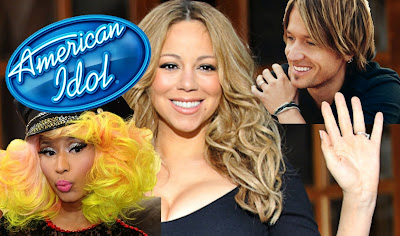 Nicki Minaj, Mariah Carey and Keith Urban - American Idol Judges
