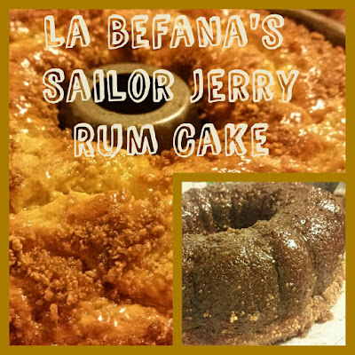 La Befana's Sailor Jerry Italian Rum Cake