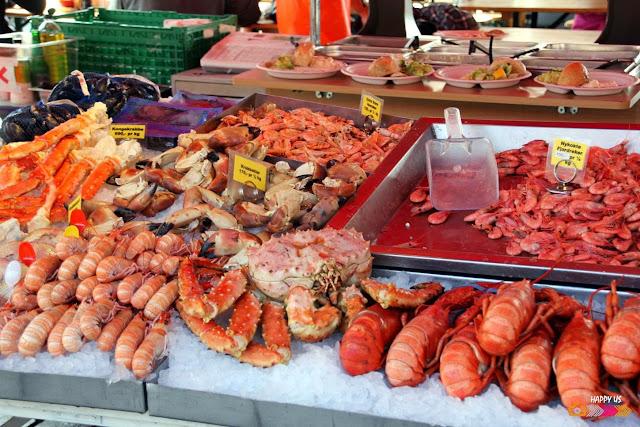Bergen - marché aux poissons
