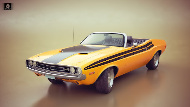 Dodge Challenger 3D