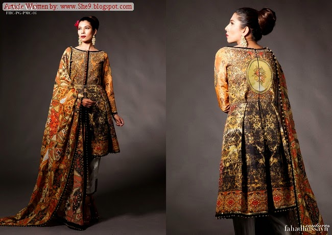 Fahad Hussayn Latest Bridal Couture