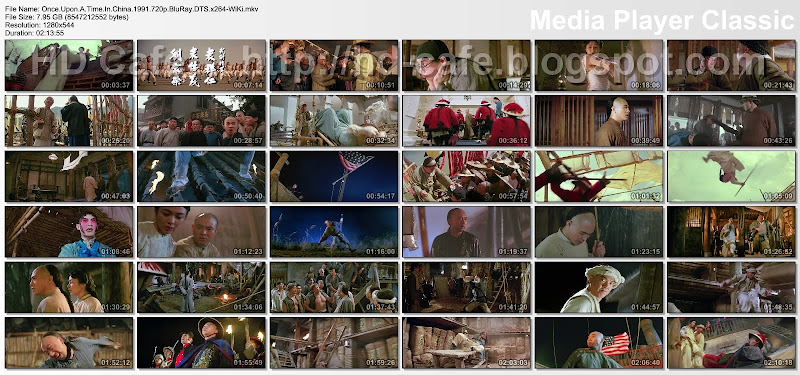 Once Upon A Time in China 1991 video thumbnails