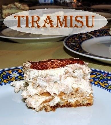 Italian Dessert Recipes- Tiramisu and Lemon Fig Tarte