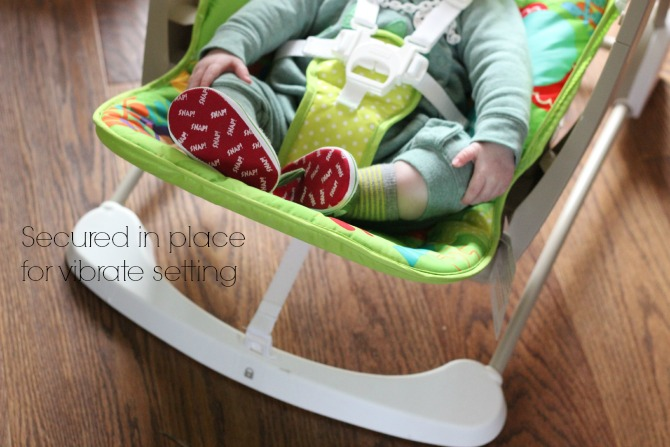 Fisher Price Rainforest Friends Take-Along Swing on Vibrate