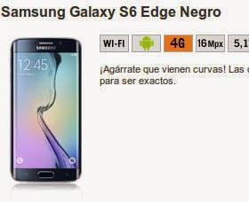 Samsung Galaxy S6 Edge en RENUEVO