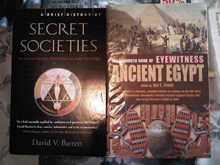 Secret Societies Mammoth Book of Eyewitness Ancient Egypt