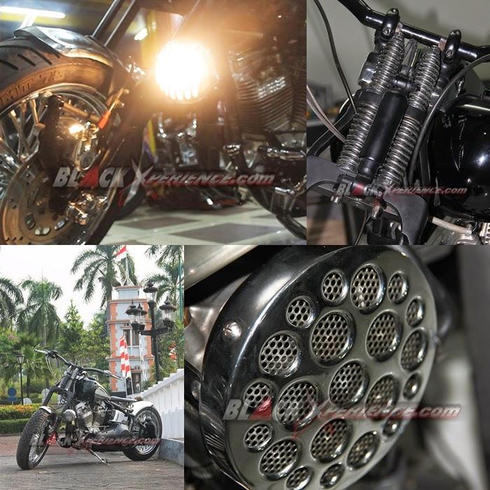 Modifikasi Motor Harley Davidson Softail EVO