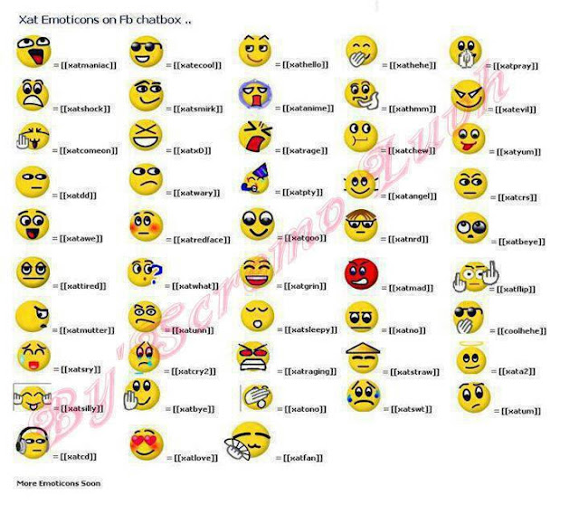 kode emution facebook terbaru, kode emotion xat, kode emotion  terbaru 2012