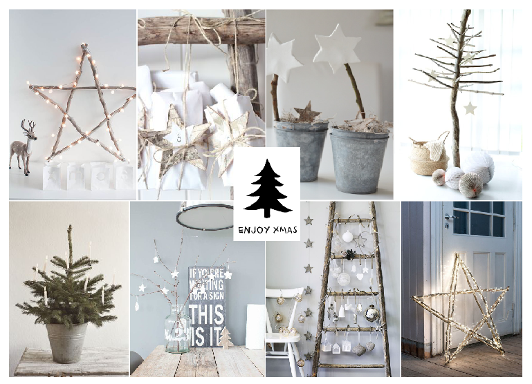MOODBOARD: Eight great and inspiring ideas to decorate your house during Christmas