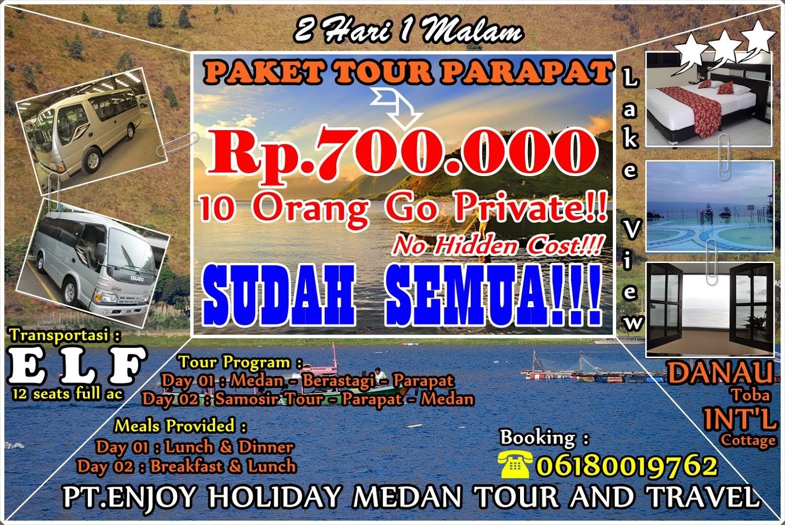 PROMO 2H1M HANYA 700.000 - 10 ORANG GO PRIVATE  TOUR - SUDAH SEMUA - TANPA BIAYA TAMBAHAN!!!