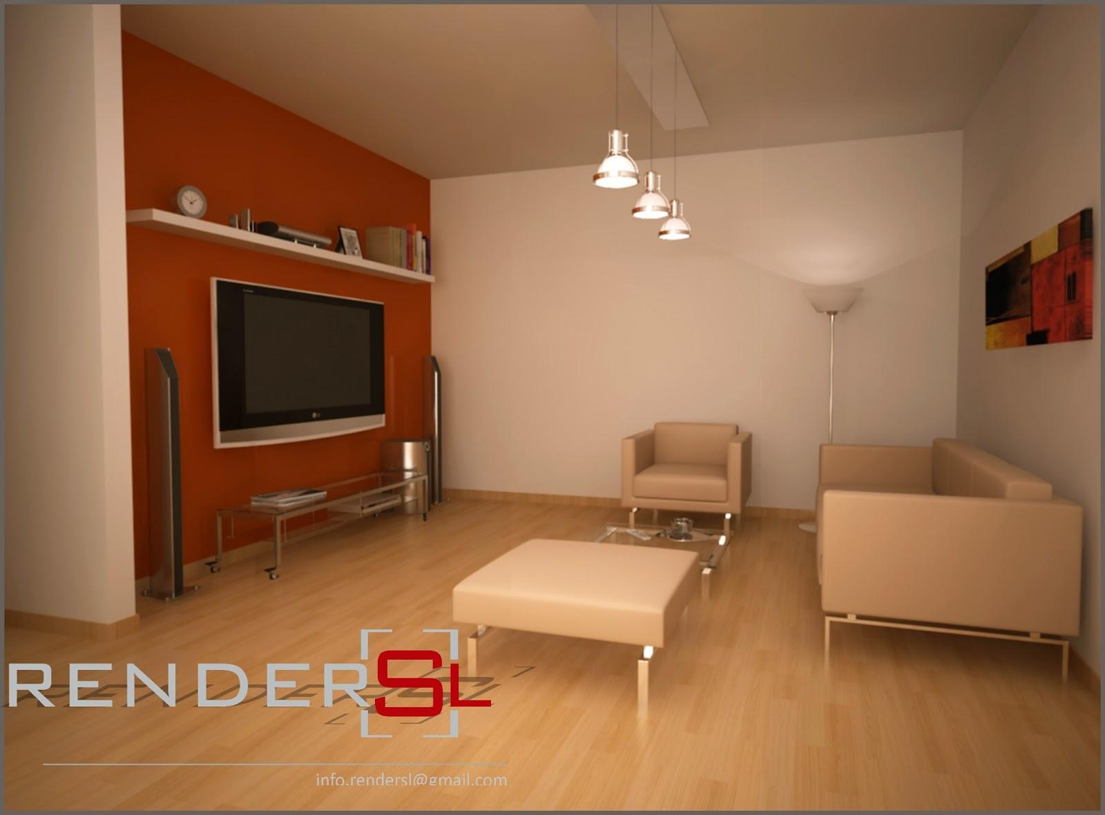 Renders sl arquitectura perspectivas interiores for Arquitectura interior sl
