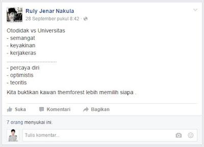 Otodidak Versus Universitas