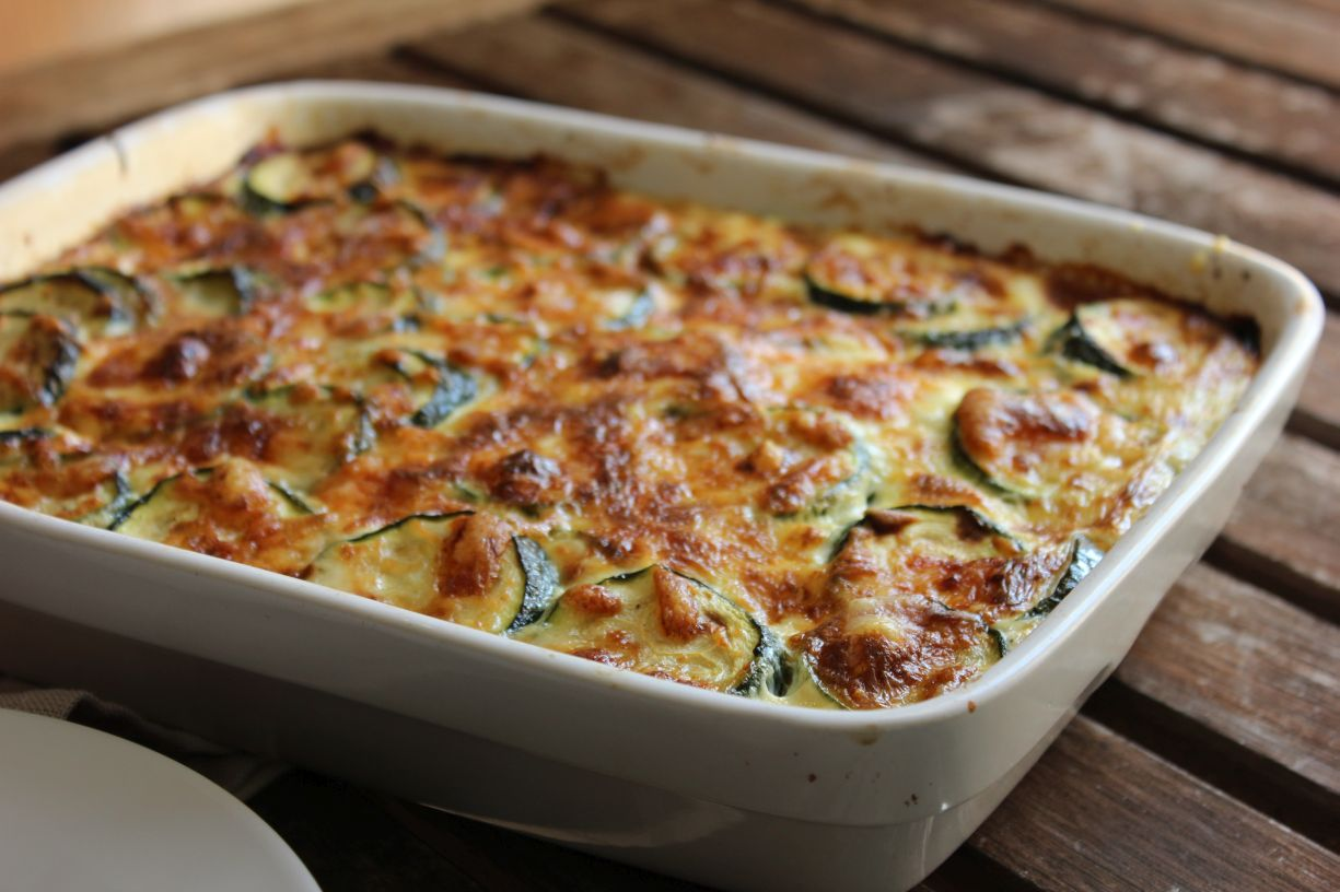 au menu du jour gratin de courgettes. Black Bedroom Furniture Sets. Home Design Ideas