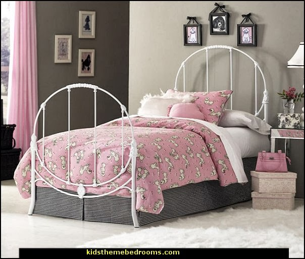 Pink Poodles Paris Style Bedroom Decorating Paris Style Decorating Ideas French Theme Paris