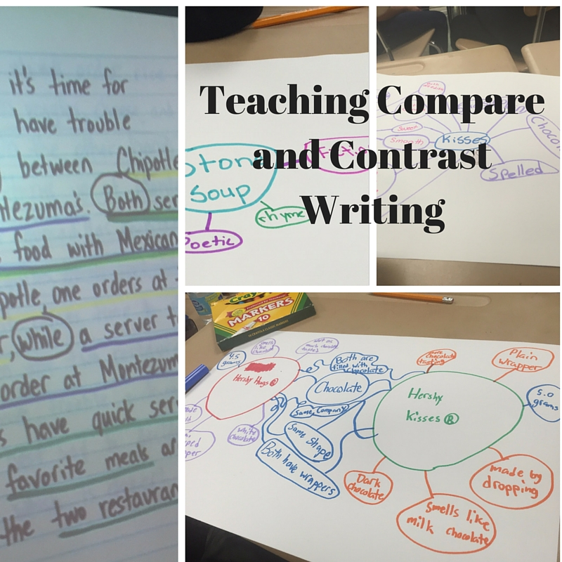 ... writing compare and contrast essays writing-a-compare-and-contrast