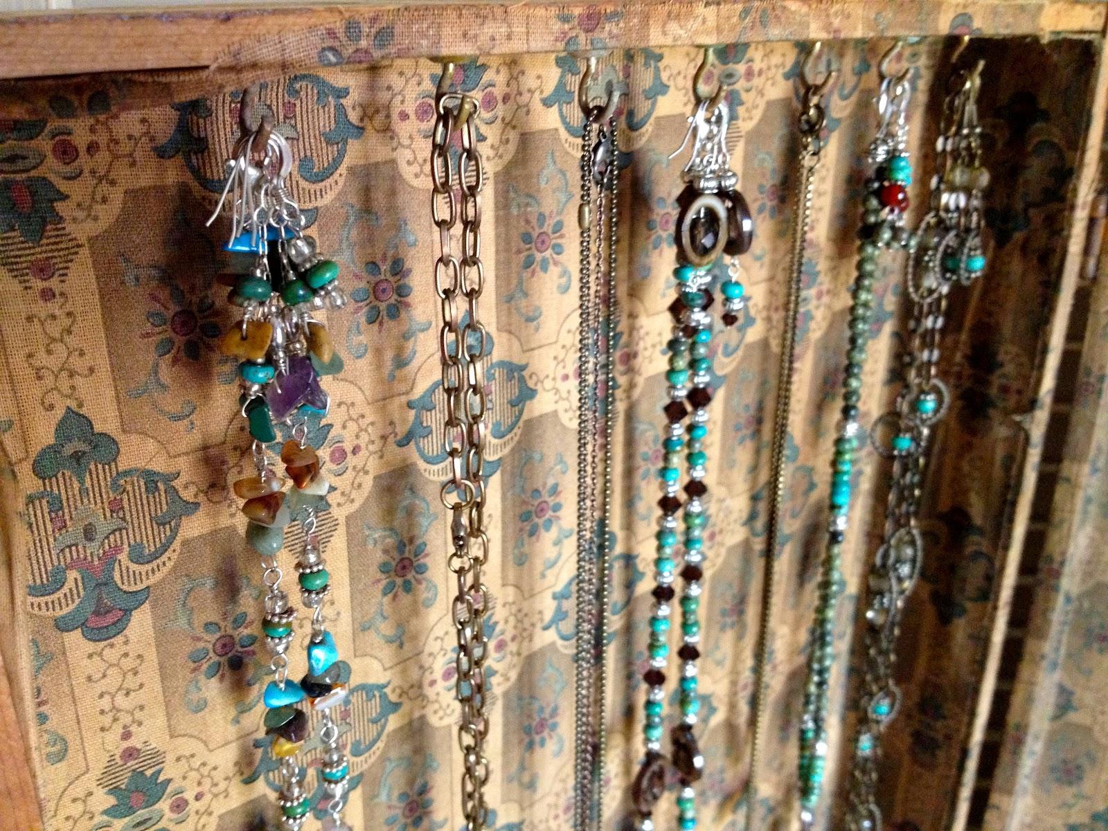 AestheticsA Junkers Journal Jewelry Organizer Vintage Wood Case