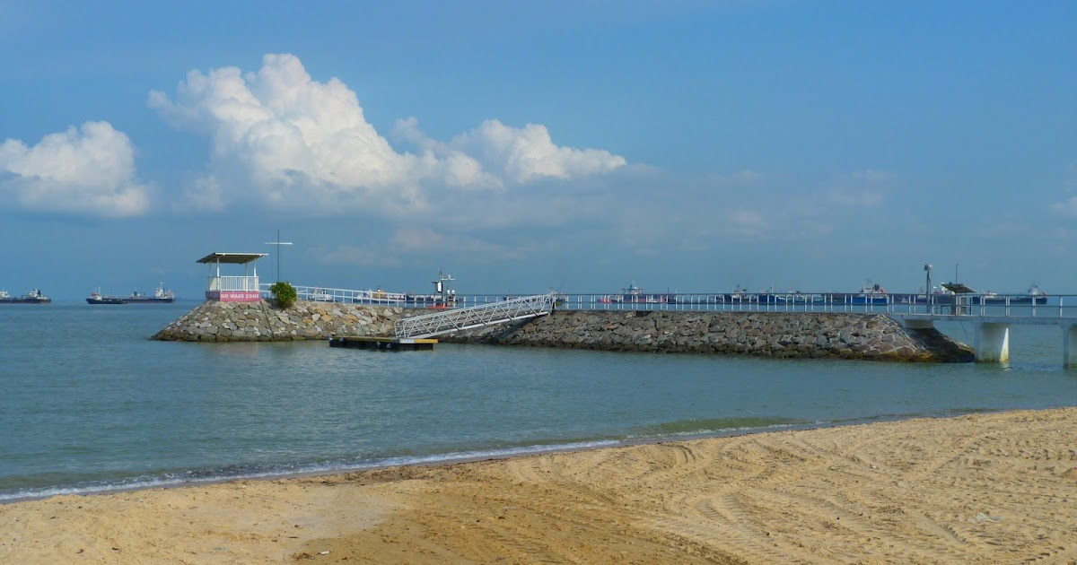 Coastal Processes at East Coast Park Singapore