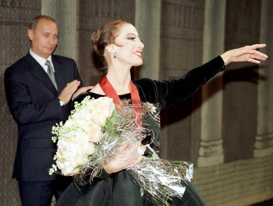 La bailarina Maya Plisetskaya fallece a los 89 años