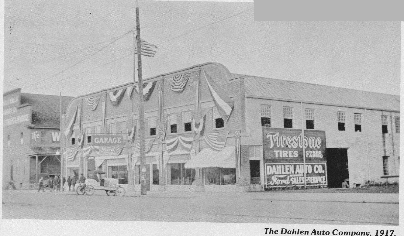 bygone walla walla vintage images of the city and county dahlen automobile company the ford dealer
