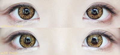 Mio Accent Brown Contacts at www.e-circlelens.com