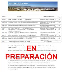 CALENDARIO SENDARABA ( 2º-SEMESTRE 2016 )