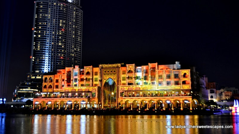 The Prince of Light at Dubai Festival of Lights