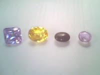 batu permata kecubung dan citrin
