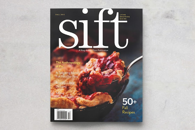 King Arthur Flour's Sift Magazine Fall 2015