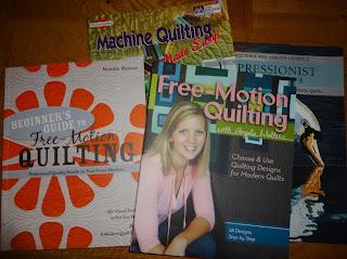FMQ beginner book quilt