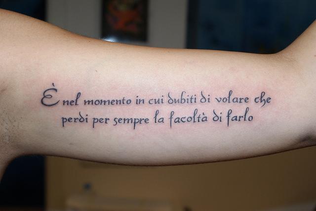 Ricerche correlate a tatuaggi scritte in corsivo italiano