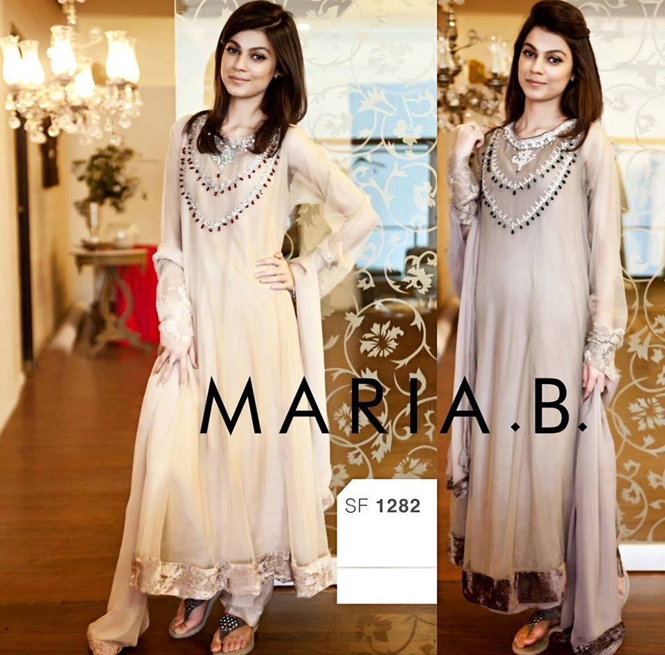 maria b eid collection 2013 2014 maria b evening wear dresses eid collection 2013 vol 2 by. Black Bedroom Furniture Sets. Home Design Ideas