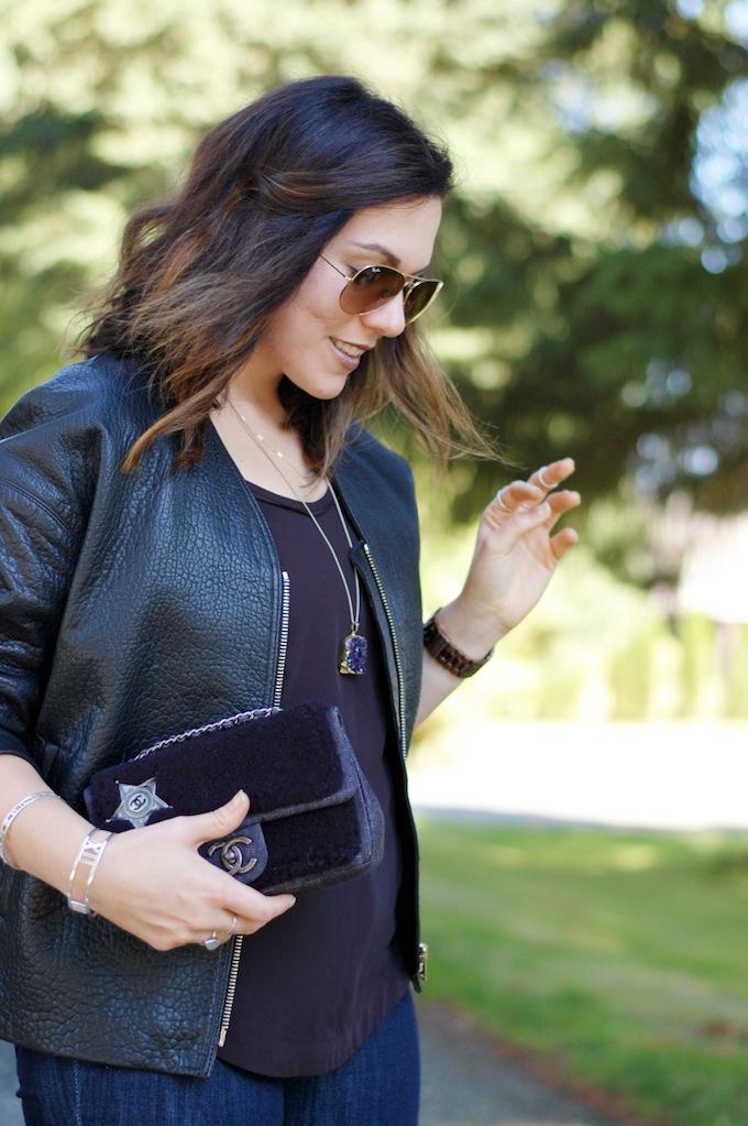 Dish indigo Slim Straight skinny jeans Vancouver blogger