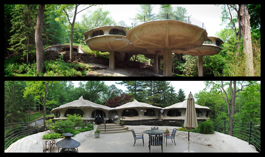 Eclectitude Mushroom House James Johnson Architect