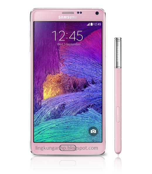 smartphone Samsung Galaxy Note 4 Terbaru