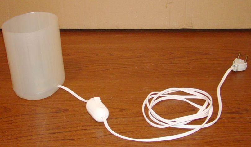Ilumina tu vida 321 como hacer una lampara casera paso a - Como hacer una lampara de mesa casera ...