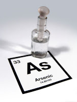 arsenic bottle periodic table tabla periódica botella arsénico