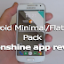 Android Minimal/Flat Icon Pack - Moonshine App Review