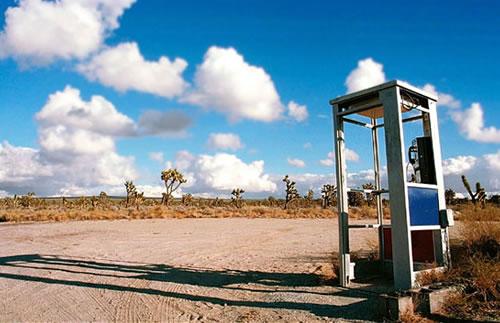 cabina teléfono de mojave