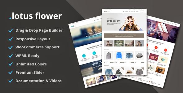 Lotus Flower – Flexible Multi-Purpose Shop Theme