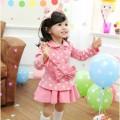 Setelan Polkadot Pink, Baju Anak Import Berkualitas