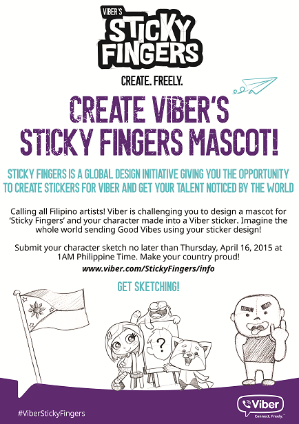 Viber Sticky Fingers