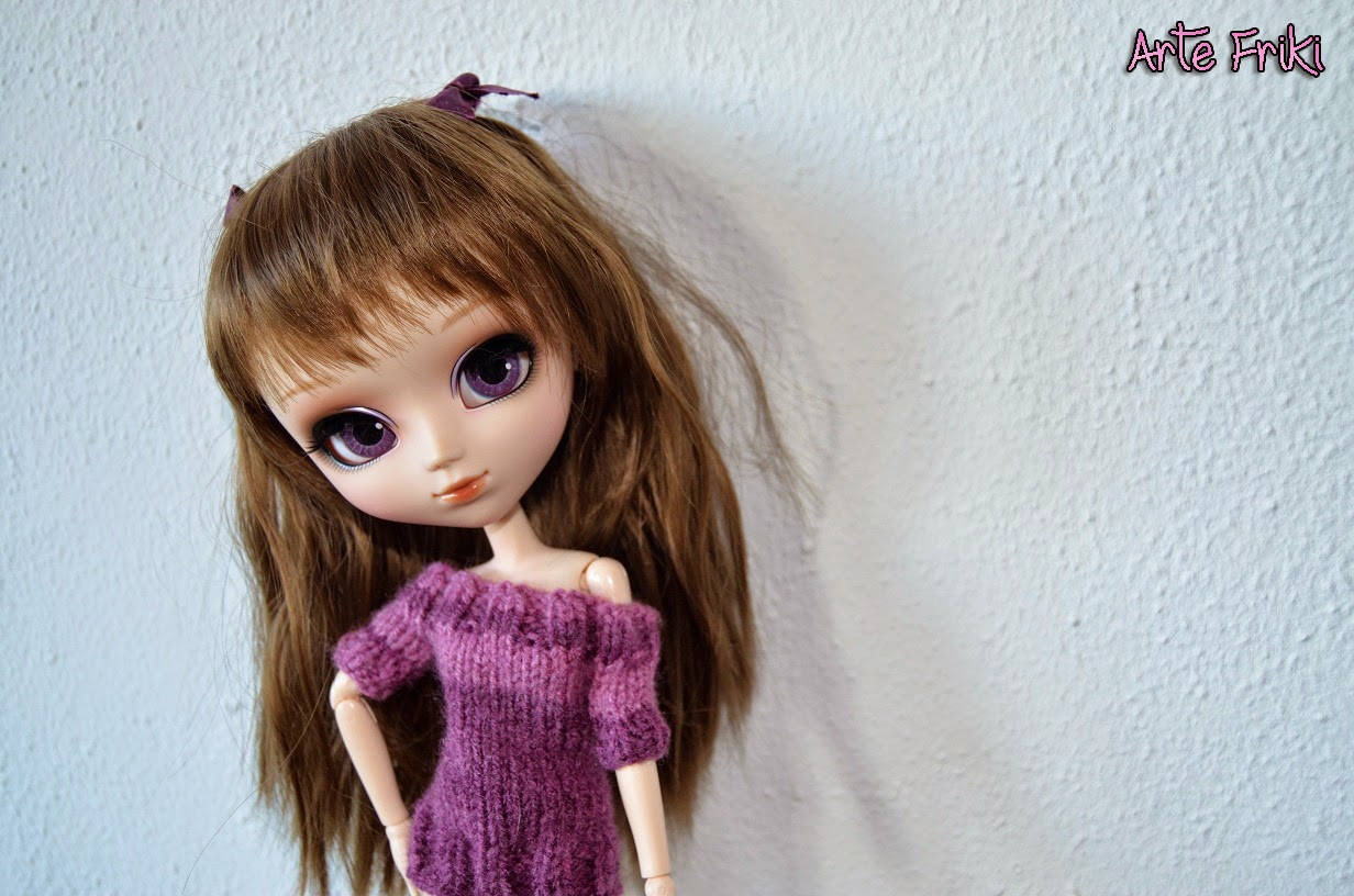 pullip doll muñeca jersey knitting sweater
