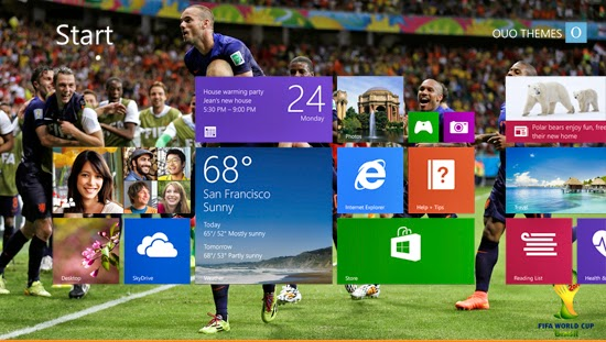 Netherlands Fifa World Cup 2014 Theme For Windows 7 And 8 8.1