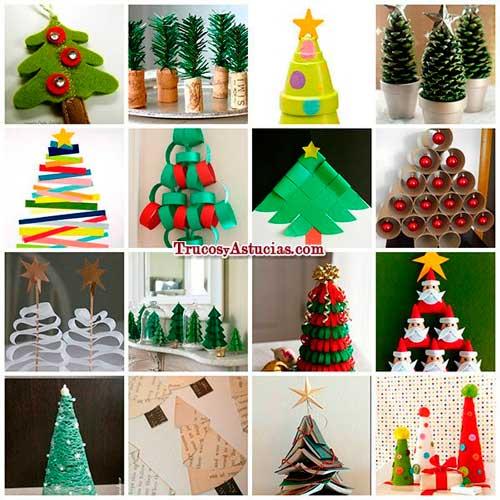 Como hacer maquetas decoraciones de navidad a celebrar - Arboles navidad decoracion ...