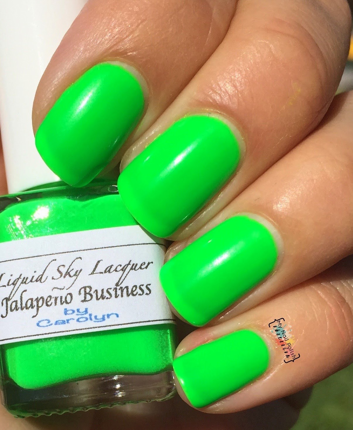 Liquid Sky Lacquer Jalapeno Business