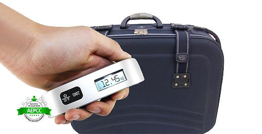 Como pesar suas malas para viajar | Balança digital