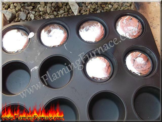 shiny molten metal aluminum ingots